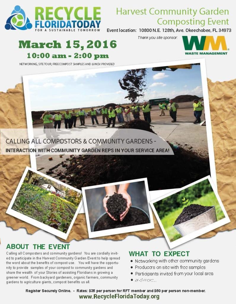 Harvest Community Garden Composting Event - 3.15.16