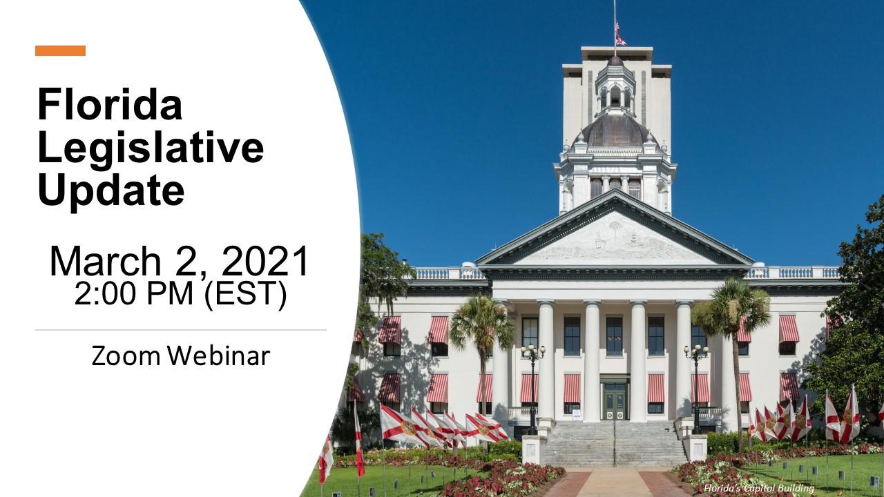 Florida Legislative webinar
