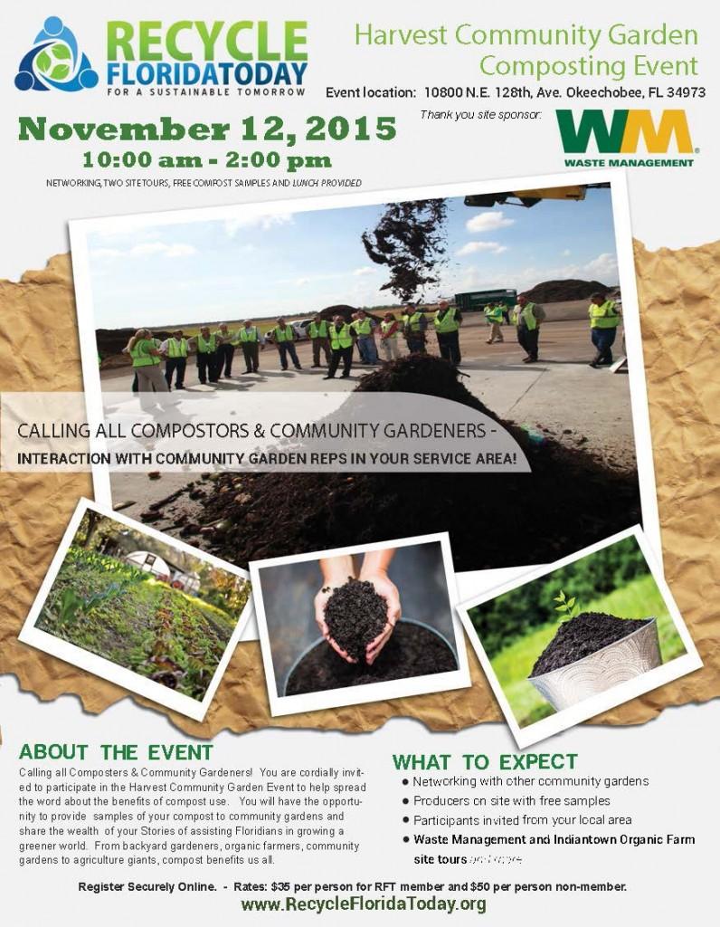 Web - Harvest Community Garden Composting Event