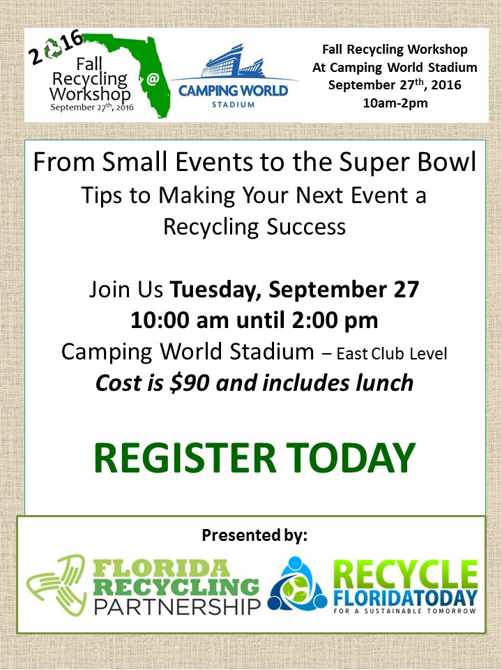 2016-camping-world-staduim-fall-recycling-workshop-flyer